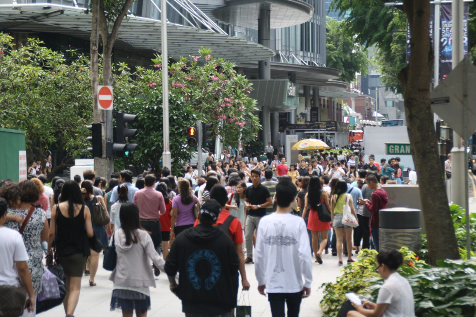 Singapore Crowd