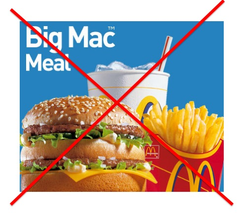 no more mc donald